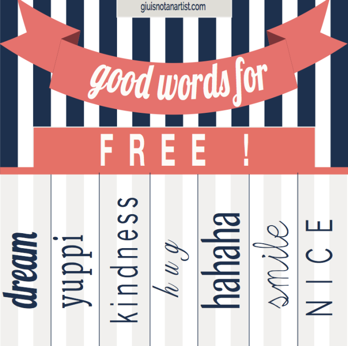 good words for free